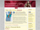 Valentines wordpress theme PLR