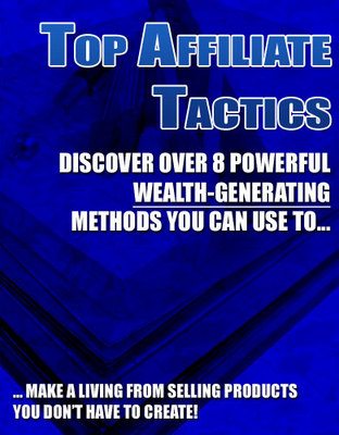 Product picture TOP AFFILIATE TACTICS