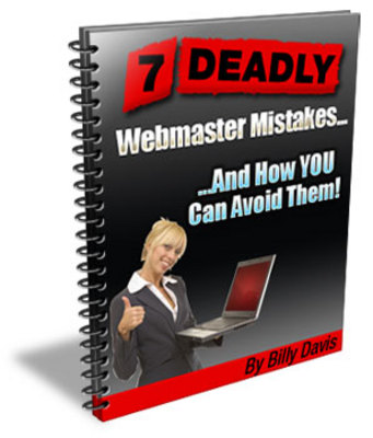 Product picture 7 Deadly Mistakes Every Webmaster Does