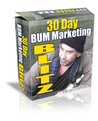 Product picture 30 Day Bum Marketing Blueprint