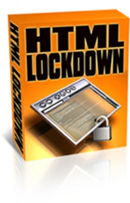 Product picture HTML Lockdown with PLR