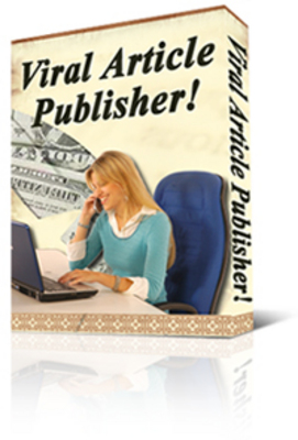 Product picture Viral Article Publisher with PLR